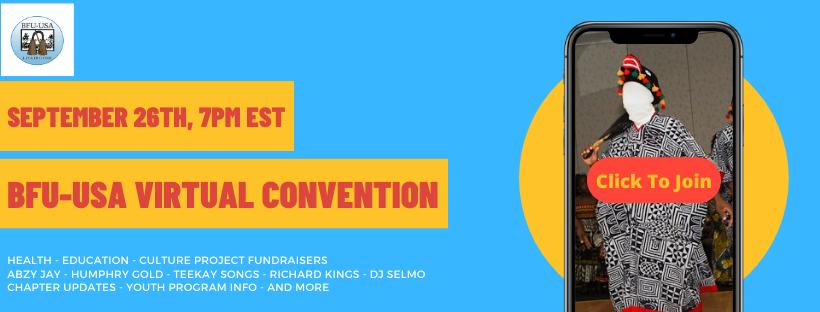 Virtual Convention Fundraising